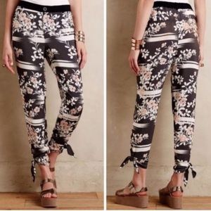 Elevenses Anthropology Wildflower Pants